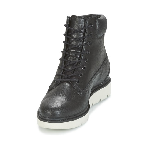 Timberland Noir Kenniston Lace 6in Up Montantes Femme Baskets PwuTkXZOi