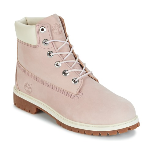 Chaussures Enfant Boots Timberland 6 IN PREMIUM WP BOOT Nude