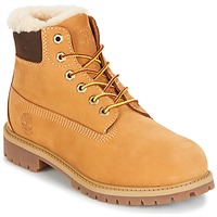 Chaussures Enfant Boots Timberland 6 IN PRMWPSHEARLING LINED Wheat Waterbuck