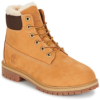 Chaussures Enfant Boots Timberland 6 IN PRMWPSHEARLING LINED Marron