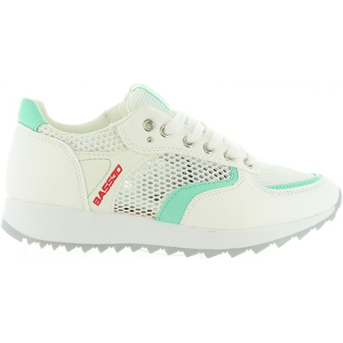 Chaussures Femme Baskets basses Bass3d 41285 Blanco