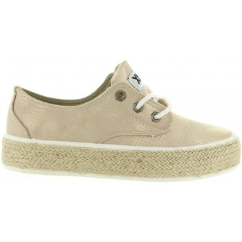 Chaussures Fille Espadrilles Xti 54790 Gold