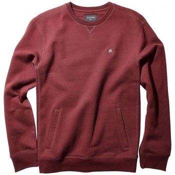 Vêtements Homme Sweats Nixon Sweat  Calle Crew - Burgundy Heather Rouge