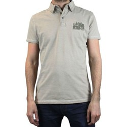 Vêtements Homme Polos manches courtes Kebello Polo RMS 90151 beige