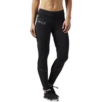 Vêtements Femme Leggings Reebok Sport LM Bonded Tight Noir
