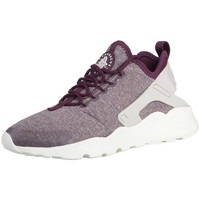 Chaussures Femme Baskets basses Nike W Air Huaraceh Run Ultra SE Bordeaux-Blanc