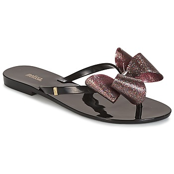 Chaussures Femme Escarpins Melissa HARMONIC TARTAN AD Noir