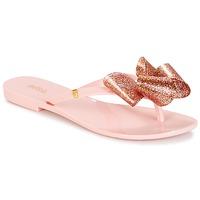 Chaussures Femme Tongs Melissa HARMONIC TARTAN AD Rose