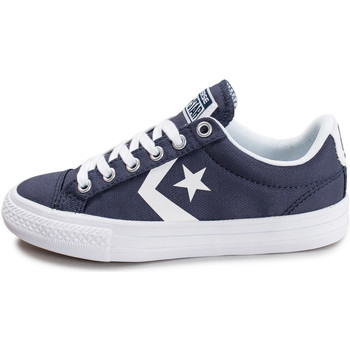Chaussures Enfant Baskets basses Converse Star Player Ev Ox Enfant Blanc/Bleu