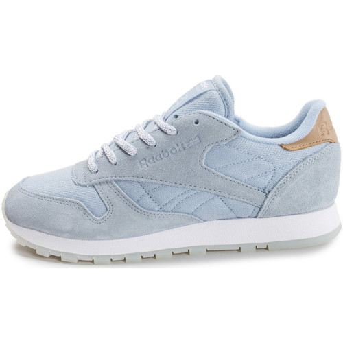 Chaussures Femme Baskets basses Reebok Sport Classic Leather Sea Worn e bleu