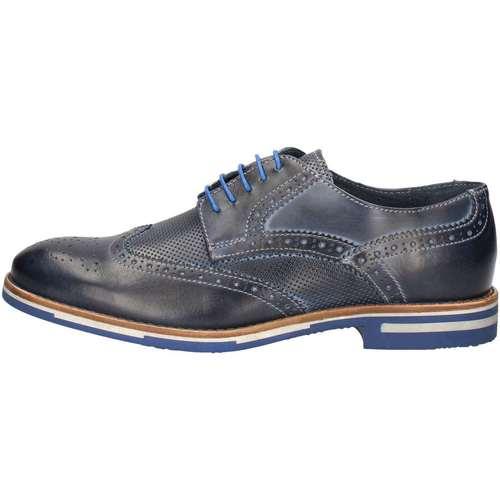 Chaussures Homme Derbies Nicolabenson 1477B Lace up shoes Homme Bleu Bleu