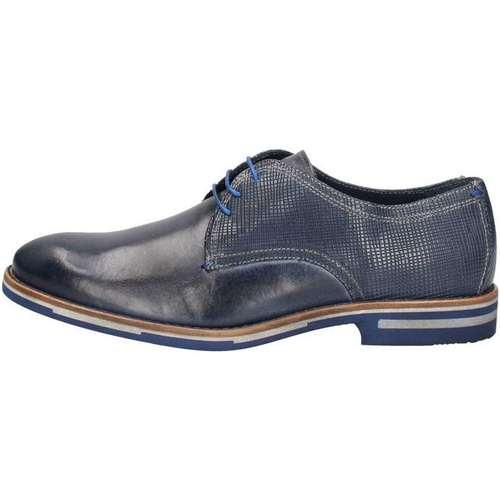 Chaussures Homme Derbies Nicolabenson 2219B Lace up shoes Homme Bleu Bleu