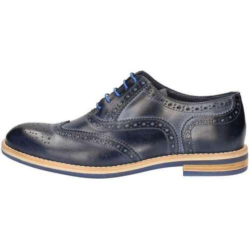 Chaussures Homme Derbies Nicolabenson 9511A Lace up shoes Homme Bleu Bleu