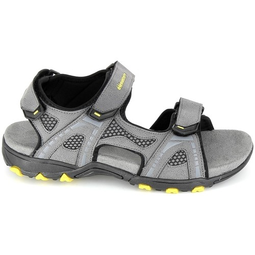 Chaussures Homme Sandales et Nu-pieds Elementerre Calcha Gris Jaune Gris