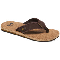 Chaussures Homme Tongs Quiksilver Monkey Abyss Cork Brown / Brown / Brown