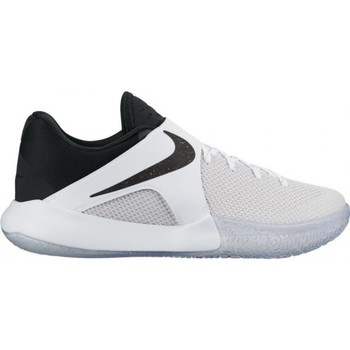 Chaussures Homme Baskets basses Nike Chaussure de Basketball  Zoom Live 2017 blanche pour homme