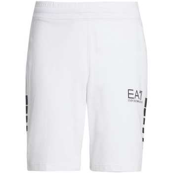 Vêtements Homme Shorts / Bermudas Emporio Armani EA7 Train 7 lines M Bermuda Co Noir