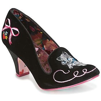 Chaussures Femme Escarpins Irregular Choice FUZZY PEG Noir