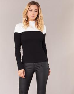 Vêtements Femme Pulls Morgan MICO Noir / Blanc