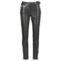 Vêtements Femme Pantalons 5 poches Morgan PEANUT Noir