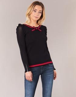 Vêtements Femme Pulls Morgan MIRTI Noir / Rouge