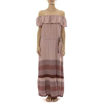 Vêtements Femme Robes longues By La Vitrine Robe Longue Care  of you Rouge Rouge