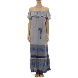Vêtements Femme Robes longues By La Vitrine Robe Longue Care  of you Bleu Bleu