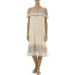 Vêtements Femme Robes courtes By La Vitrine Robe Beige Care of you Imprimée Fleurs F50134 Beige
