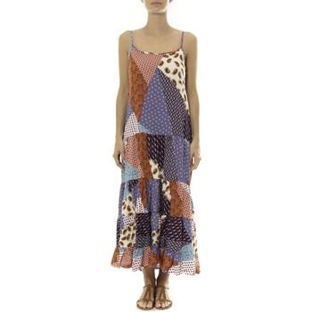 Vêtements Femme Robes longues By La Vitrine Robe Longue patchwork  Care of you Mutilcolor 1 Multicolore
