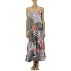Vêtements Femme Robes longues By La Vitrine Robe Longue patchwork  Care of you Mutilcolor 2 Multicolore