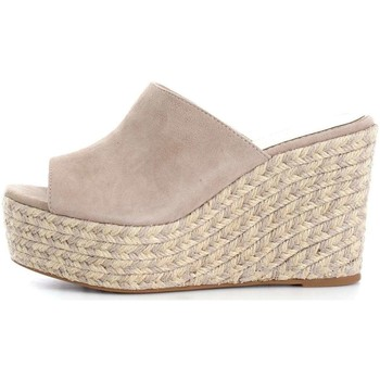 Chaussures Femme Mules Sara Lopez 37163 Espadrilles Femme Taupe Taupe