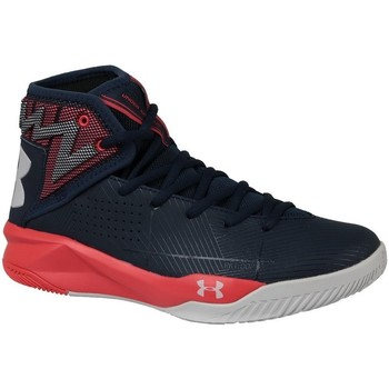 Chaussures Homme Baskets montantes Under Armour Rocket 2 Bleu marine