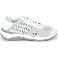 Chaussures Femme Baskets basses Grunland SC2718 Sneakers Femmes Blanc Blanc
