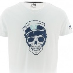 Vêtements Homme T-shirts & Polos Mister Marcel MARSHALL GRIS CHINE