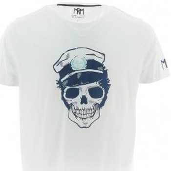 Vêtements Homme T-shirts & Polos Mister Marcel T-shirt MARSHALL GRIS CHINE