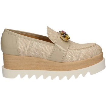 Chaussures Femme Slips on Grace Shoes 9382 Mocassins Femmes Beige Beige