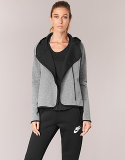 Vêtements Femme Sweats Nike TECH FLEECE CAPE FZ Gris