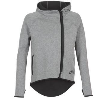 Vêtements Femme Sweats Nike TECH FLEECE CAPE FZ Gris