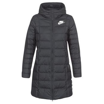 Vêtements Femme Doudounes Nike DOWN FILL PARKA Noir / Blanc