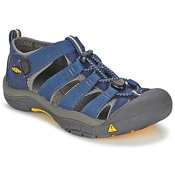 Chaussures Garçon Sandales sport Keen KIDS NEWPORT H2 Bleu / Gris