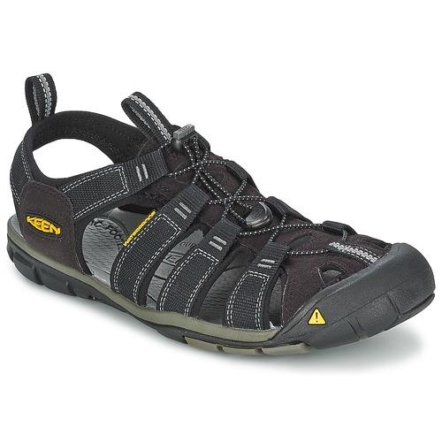 Chaussures Homme Sandales sport Keen MEN CLEARWATER CNX Noir / Gris