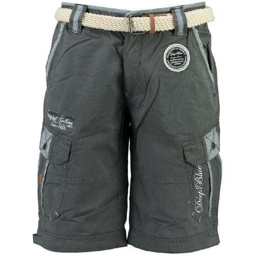 Vêtements Garçon Shorts / Bermudas Geographical Norway Bermuda Garà§on Pailledor Gris