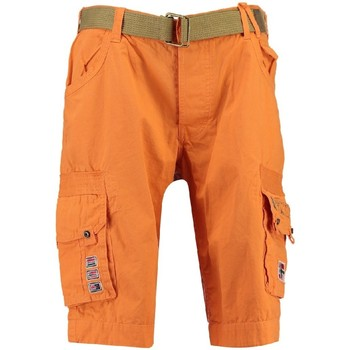 Vêtements Garçon Shorts / Bermudas Geographical Norway Bermuda Garçon Park Orange