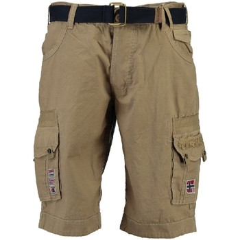 Vêtements Garçon Shorts / Bermudas Geographical Norway Bermuda Garà§on Park Beige