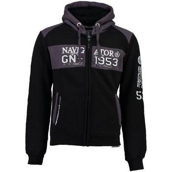 Vêtements Garçon Sweats Geographical Norway Sweat à  capuche Enfant Glapping Noir