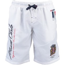 Vêtements Homme Maillots / Shorts de bain Geographical Norway Maillot de Bain Quarter Blanc