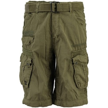 Vêtements Homme Shorts / Bermudas Geographical Norway Bermuda Homme Parasol Mastic Gris
