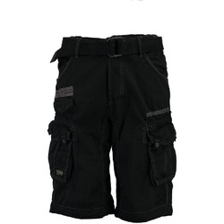 Vêtements Homme Shorts / Bermudas Geographical Norway Bermuda Homme Parasol Noir