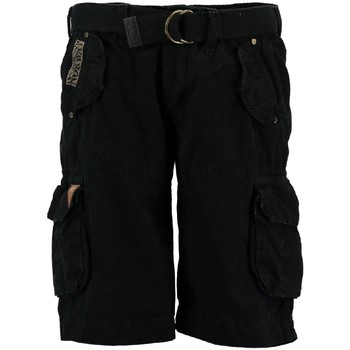 Vêtements Homme Shorts / Bermudas Geographical Norway Bermuda Homme Polish Noir