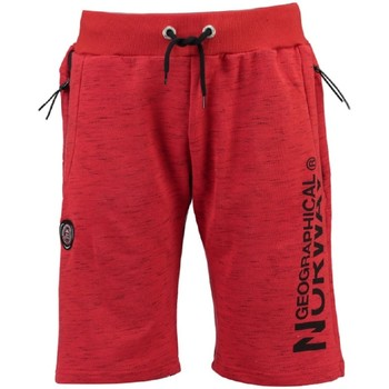 Vêtements Homme Shorts / Bermudas Geographical Norway Bermuda Homme Pantaga Rouge